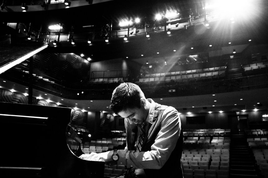 Vijay Iyer performs at SFJAZZ center